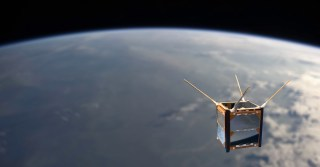 A rendering of the ArduSat.