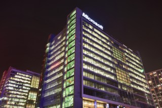 Microsoft's Beijing headquarters (image via Shutterstock)