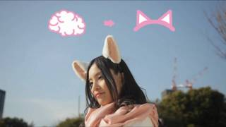 Believe it or not, people really wear Necomimi ears to reflect metabolic excitement in a way they cannot consciously control. (Photo courtesy Neurowear)