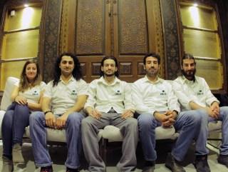 Pictured from Left to Right: Christian Sakr, Mahmoud Hossari, Ali Makhzoum, Ali Awad, and Celine Sakr.