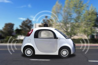 Google's autonomous car project got the industry going, but just about every automaker now is getting in on the act. (photo courtesy Shutterstock)