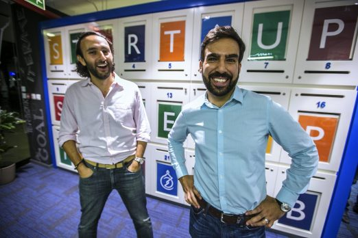 Louis Lebbos and Muhammed Mekki brought a Silicon Valley-vibe to their Dubai incubator, AstroLabs (Photo courtesy of AstroLabs).