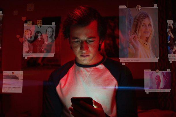 A scene from Netflix's documentary The Social Dilemma