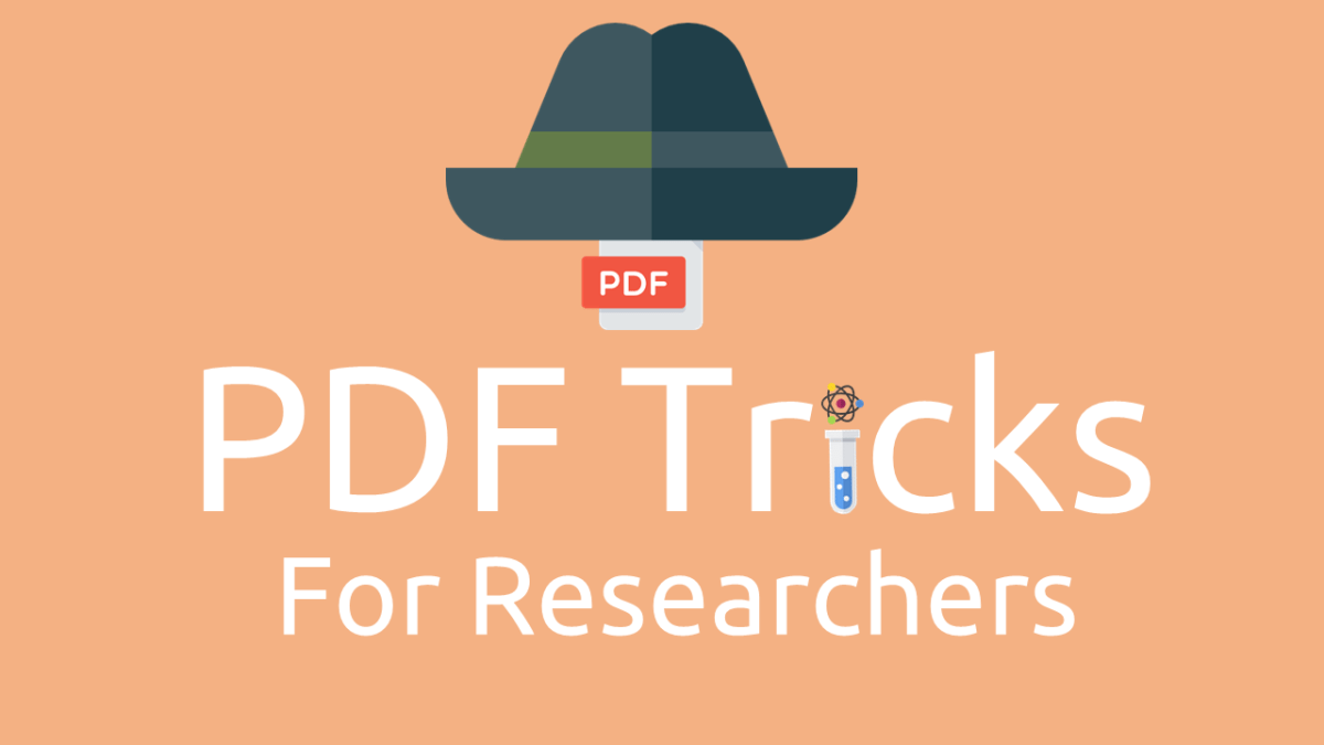 10 PDF Tricks Every Researcher Needs to Know