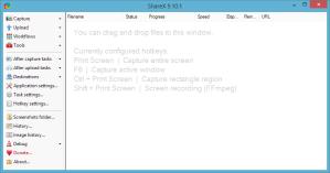 ShareX main window