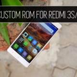 best custom rom for redmi 3s prime