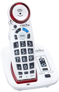 Clarity cordless amplified phone