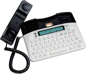 TTY phone