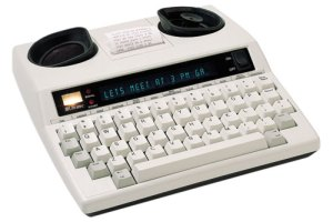 TTY machine