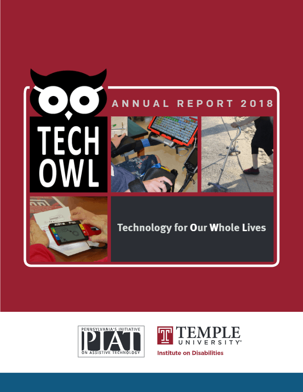 Cover of TechOwl's Annual Report 2018-2019