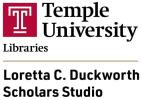 Temple's makers space logo