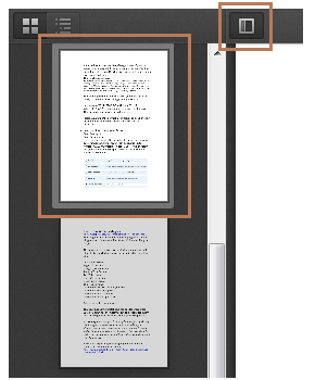 Firefox PDF Viewer Thumbnails