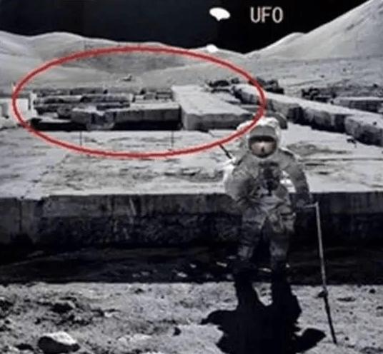 月球上的廢墟
