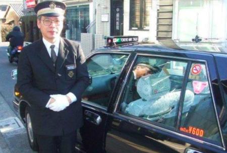 搭日本計程車基本禮貌