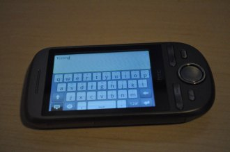 HTC Tattoo Android QWERTY keyboard