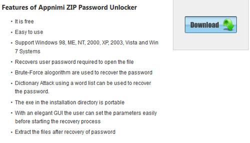 Appnimi-ZIP-Password-Unlock