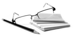 pencil-paper-notepad-glasses-comment-message-note
