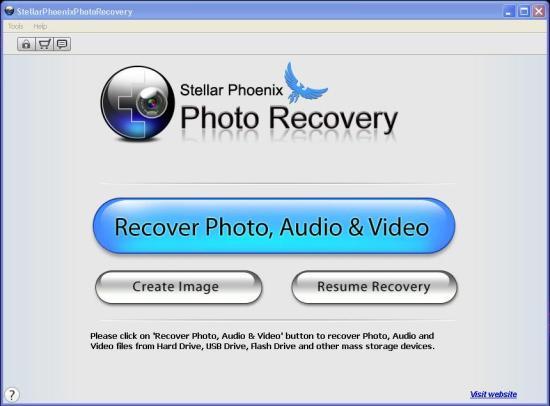 stella-phoenix-photo-recovery-home-screen