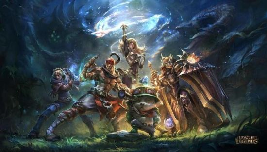 League of Legends artwork.