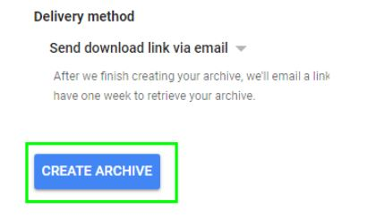 gmail create archive