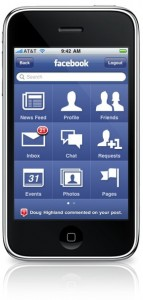 Facebook app for iPhone 3.0