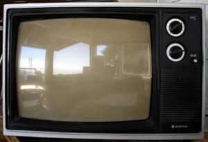 Old Sanyo Television