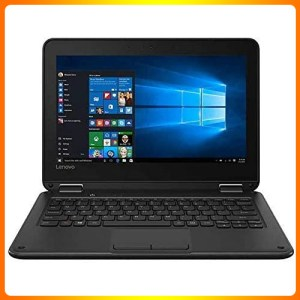 Lenovo Flex 11 2-in-1 Convertible HD Touchscreen Laptop