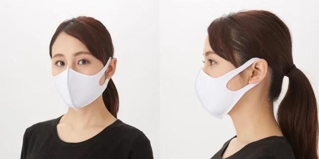 水着素材マスク「東京マスク」何度も洗える水着素材