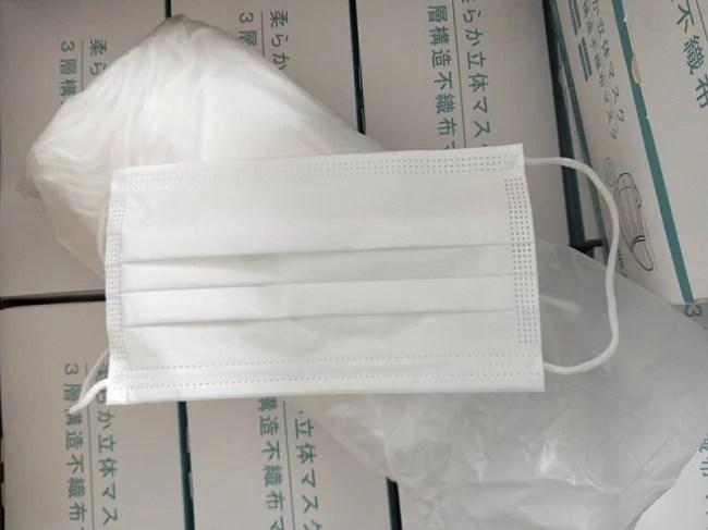 株式会社Gloture 柔らか立体マスク 梱包形態