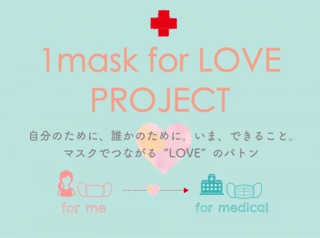 1mask for LOVEプロジェクト