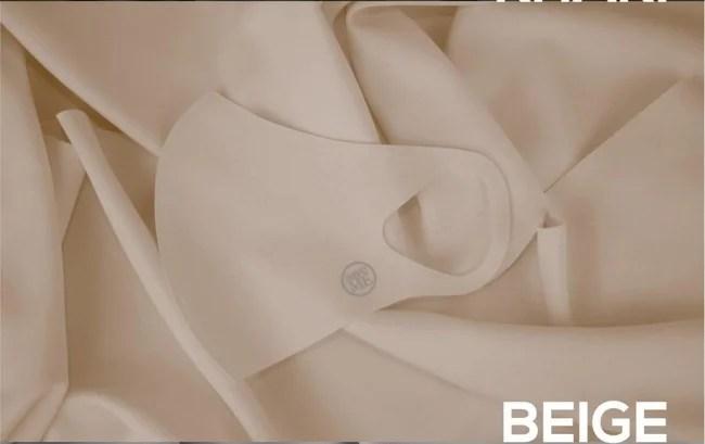 フェニチェ·サマースタイルマスク(ベージュ2枚組セット)