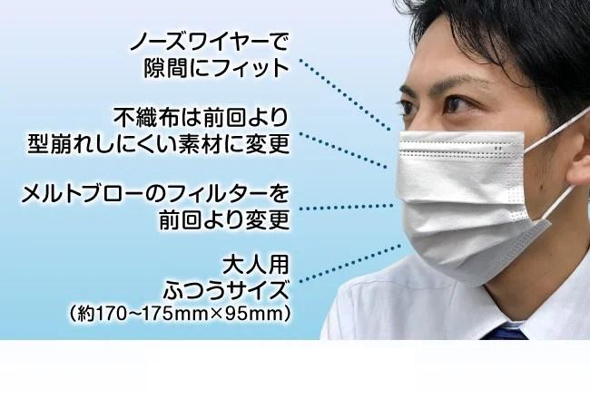 【日本製】【個別包装】サージカルマスク