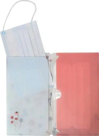 バイナー、日本製抗菌マスクケース