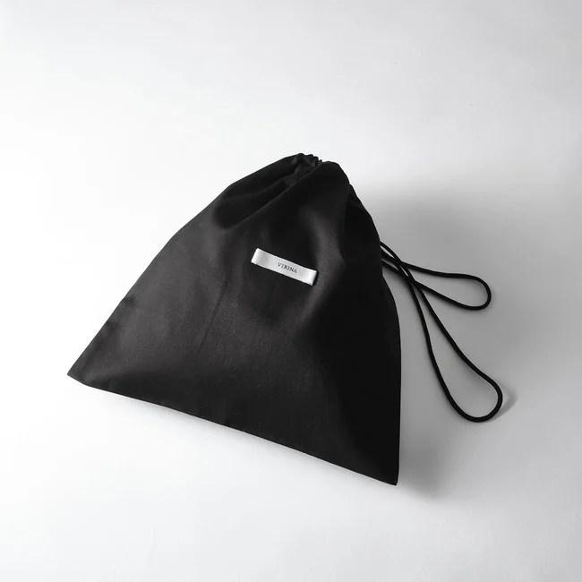 【ヴィリーナ】クレンゼ®︎抗菌・抗ウイルス マスクケース(ブラック/ピンク)