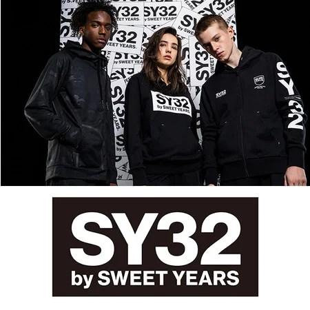 SY32 by SWEET YEARS(エスワイサーティートゥバイスウィートイヤーズ) 3月5日(金) NEW OPEN (MEN'S & LADIES')