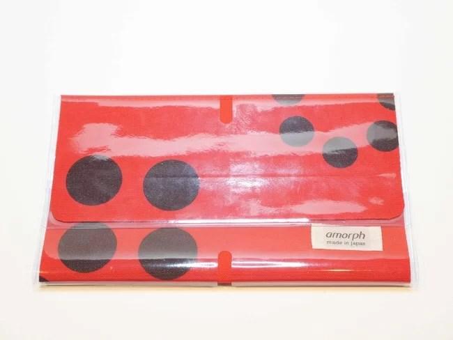 アモルフ、3つ折抗菌マスクケース(例:真救キーパー)