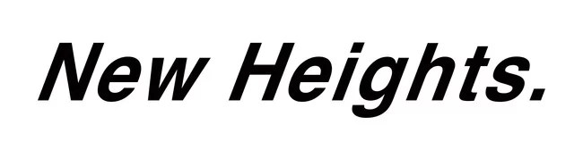 New Heights.(ニューハイツ)