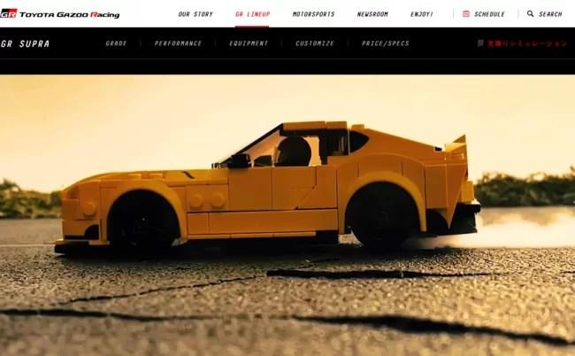 TOYOTA GAZOO Racing 公式サイト レゴ スピードチャンピオン トヨタ GRスープラ