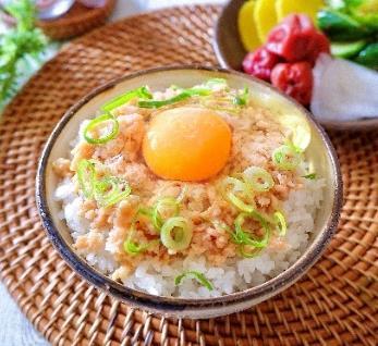 味の素、もはや革命♪「UTKG」(うま味卵かけご飯)(2人分)