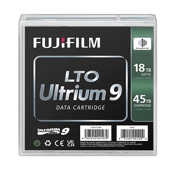 「FUJIFILM LTO Ultrium9」 製品画像