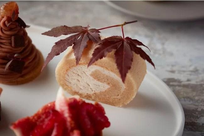 ハイアット セントリック 銀座 東京 Vegan Afternoon Teaメープル ロールケーキ