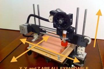 3d printer from printbot