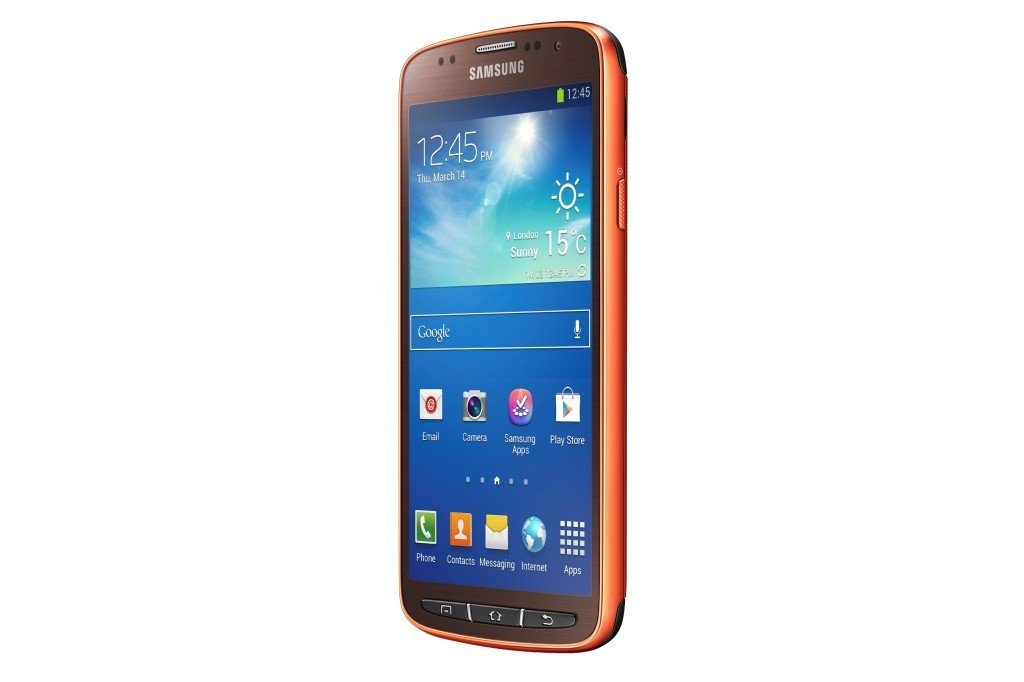 GT I9295 005 Right Perspective Orange 1024x682 - Samsung Introduces the GALAXY S4 Active:The Adventurer's Ultimate Companion