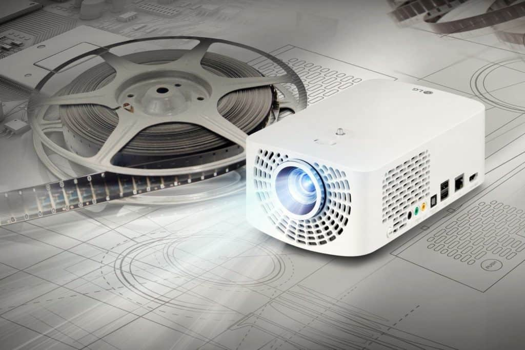 LG Minibeam Pro PF1500 1  1024x683 - LG Marks LED Projector Leadership With New Portable Projectors