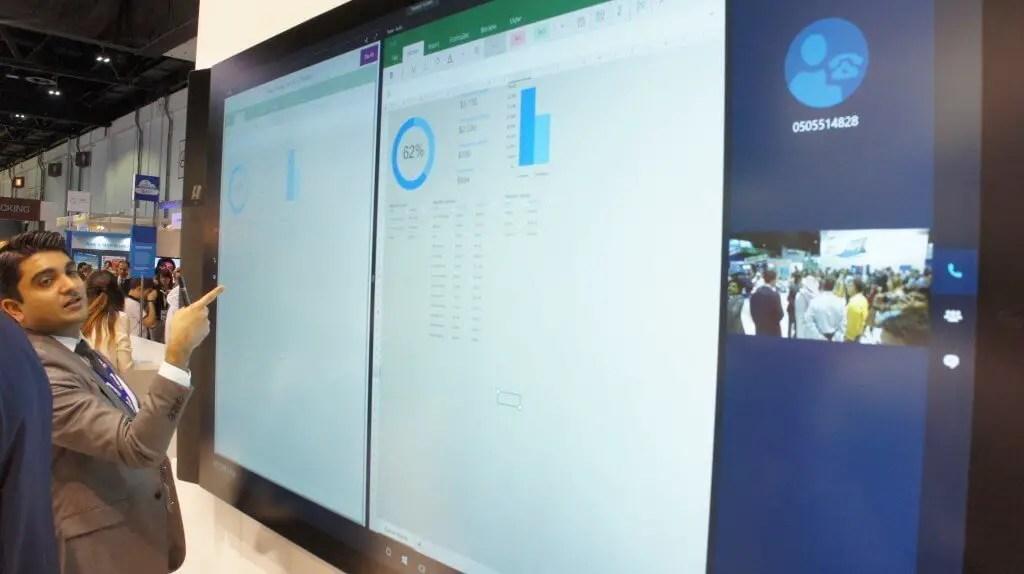 DSC02838 1024x574 - Microsoft Surface Hub launched in UAE & Qatar during Gitex.