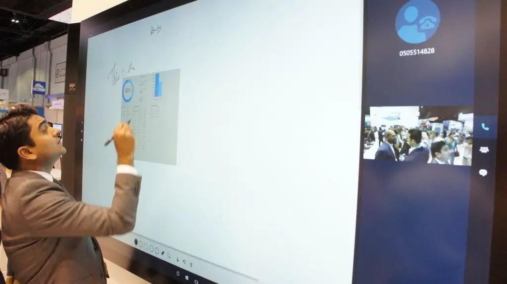 DSC02839 1024x574 - Microsoft Surface Hub launched in UAE & Qatar during Gitex.