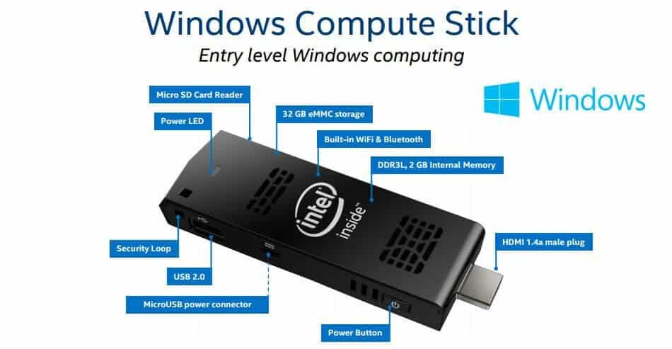 intel compute stick device