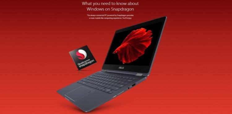 asus 1024x504 - Qualcomm Launches Snapdragon 835 Mobile PC Powered  Always Connected PC