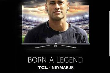 2018 02 11 - TCL APPOINTS BRAZILLION FOOTBALL STAR NEYMAR JR.  AS GLOBAL BRAND AMBASSADOR