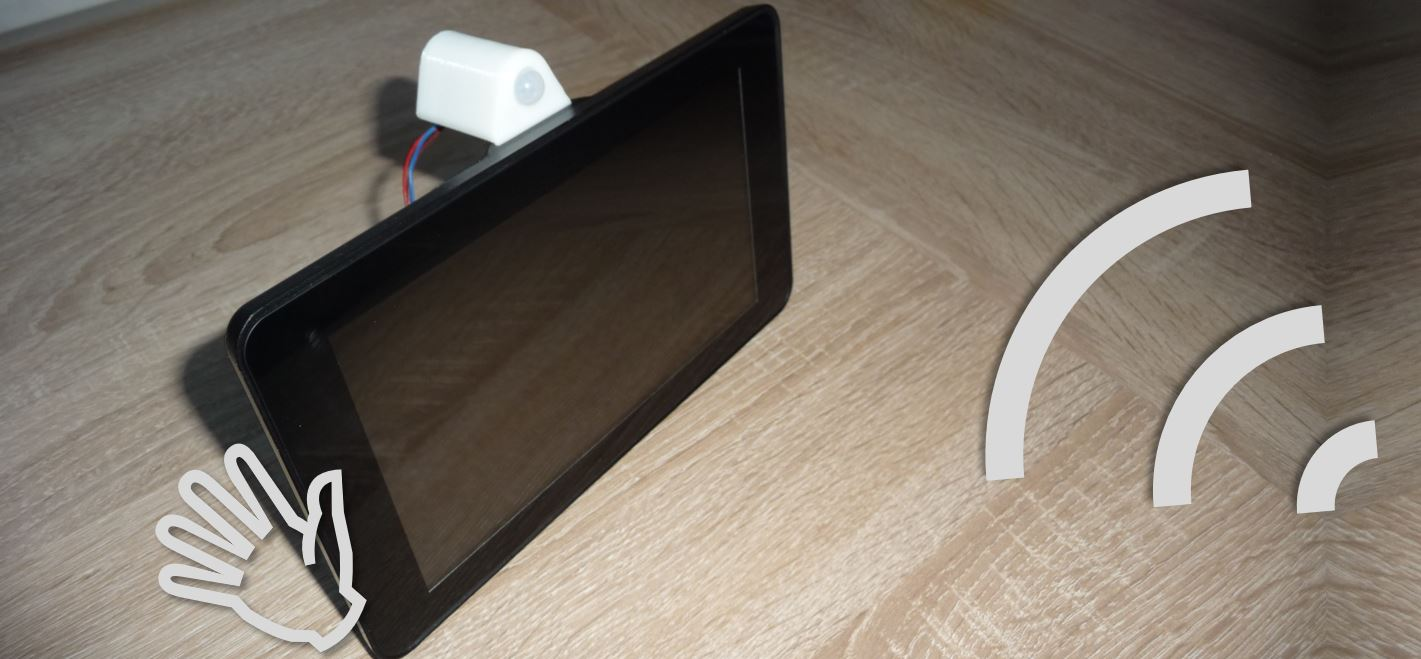 On/Off switch for the Raspberry Pi touch display